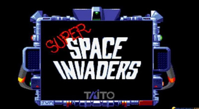 Super Space Invaders cabinato vintage